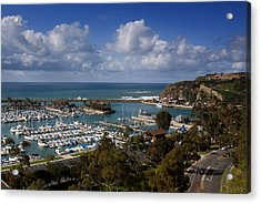 Dana Point Harbor California Acrylic Print by Cliff Wassmann