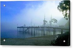 Dana Point Harbor When The Fog Rolls In Acrylic Print