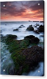 Dana Point Sunset Acrylic Print by Eric Foltz