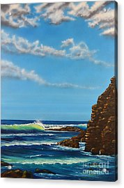 Dana Point Walk Acrylic Print
