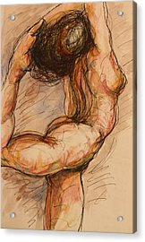 Dance After Rodin Acrylic Print by Dan Earle