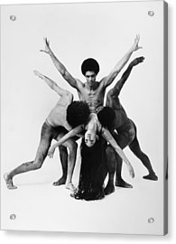 Dance: Alvin Ailey Acrylic Print by Granger