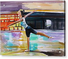 Dance Class Acrylic Print