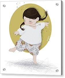 Dance, Dance, Dance Acrylic Print by Soosh