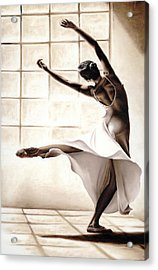 Dance Finesse Acrylic Print by Richard Young