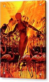 Dance Gabriel Dance Acrylic Print by Mark Myers