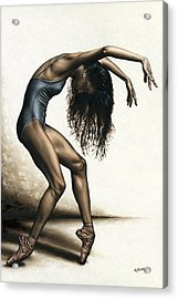 Dance Intensity Acrylic Print by Richard Young
