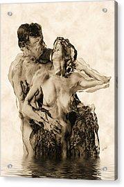 Dance Acrylic Print by Kurt Van Wagner