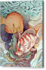 Dance Macabre Acrylic Print by Liduine Bekman