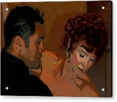 Dance Of Romance Acrylic Print by Lori Seaman