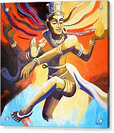 Dance Of Shiva Acrylic Print