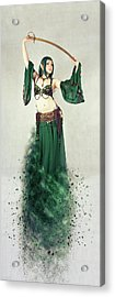 Dance Of The Belly Acrylic Print by Nichola Denny