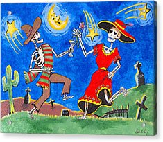 Dance Of The Dead Acrylic Print