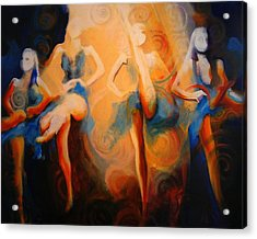 Dance Of The Sidheog Acrylic Print by Georg Douglas