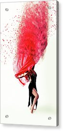 Dance Of The Viel Acrylic Print by Nichola Denny