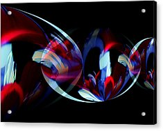 Dance Party Acrylic Print by Karen Scovill