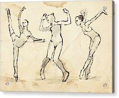 Dance Studies Acrylic Print