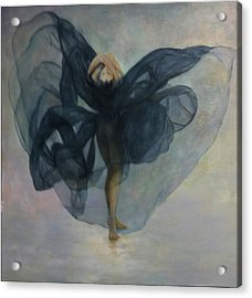 Dance With A Black Shawl Acrylic Print