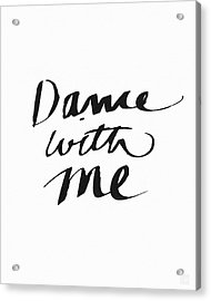 Dance With Me- Art By Linda Woods Acrylic Print