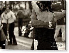 Dance With Me Acrylic Print by Leslie Leda