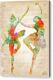 Dance With Me Acrylic Print by Nikki Smith