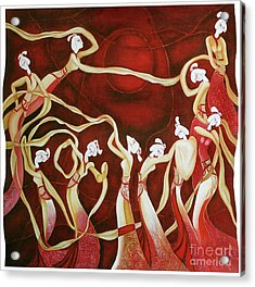 Dance With The Wind Acrylic Print