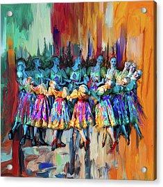 Dancer 263 2 Acrylic Print