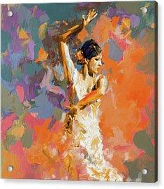 Dancer 283 1 Acrylic Print by Mawra Tahreem