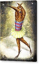 Dancer 3 Acrylic Print by Lolita Bronzini