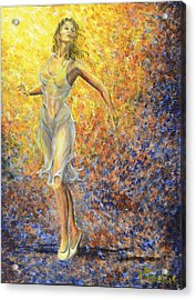 Dancer Away Acrylic Print