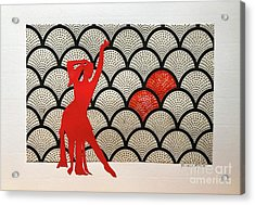 Dancer In Red 01 Acrylic Print