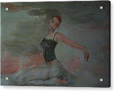 Dancer Acrylic Print by Liliana Andrei