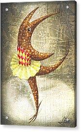 Dancer Acrylic Print by Lolita Bronzini