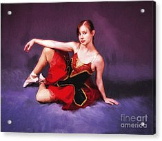 Dancer No. 6  ... Acrylic Print by Chuck Caramella