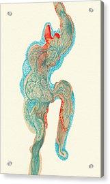 Dancer- #ss14dw023 Acrylic Print by Satomi Sugimoto