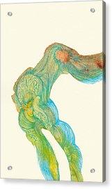 Dancer- #ss14dw039 Acrylic Print by Satomi Sugimoto