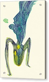 Dancer - #ss14dw045 Acrylic Print by Satomi Sugimoto