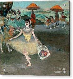 Dancer With Bouquet Acrylic Print by Edgar Degas