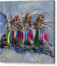 Dancers 264 1 Acrylic Print