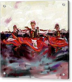 Dancers 268 2 Acrylic Print