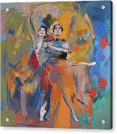 Dancers 278 1 Acrylic Print