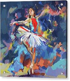 Dancers 279 1 Acrylic Print