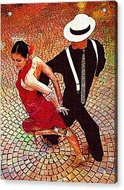 Dance.tango. Acrylic Print