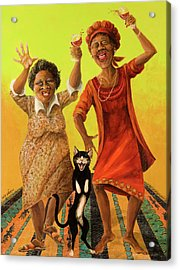 Dancin' Cause It's Tuesday Acrylic Print by Shelly Wilkerson