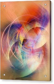 Dancing At The Edge Of Time Acrylic Print