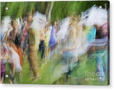 Dancing At The Music Festival Acrylic Print