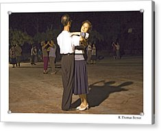 Dancing Couple Acrylic Print