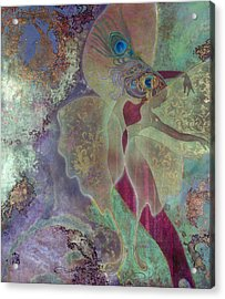 Acrylic Print featuring the painting Dancing Fairy by Ragen Mendenhall