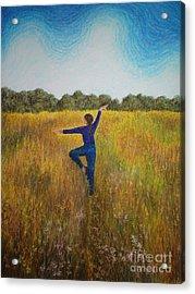 Dancing Field Acrylic Print