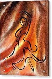 Dancing Fire IIi Acrylic Print by Irina Sztukowski
